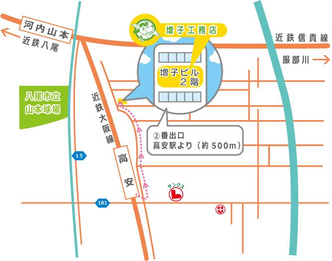 map of masukokoumuten